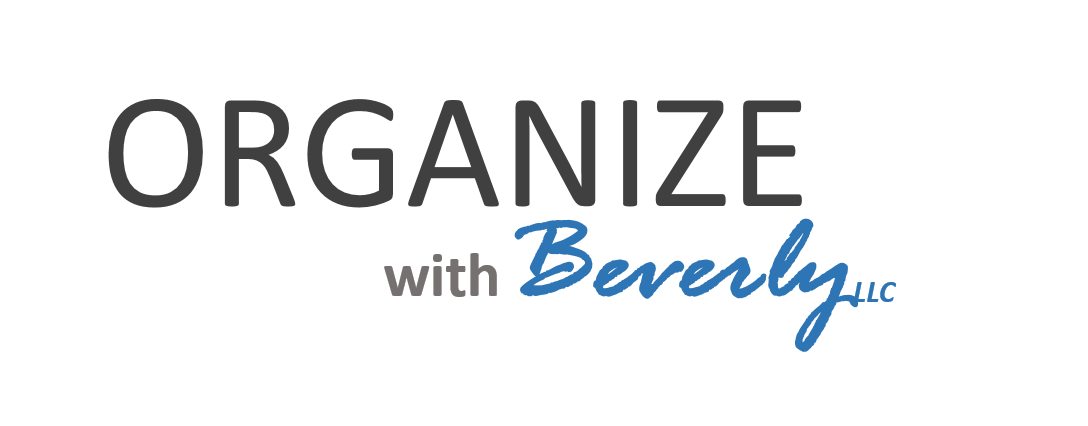 Organize with Beverly, LLC | Professional Organizer | Grayslake | Gurnee | McHenry | Crystal Lake | Libertyville | Vernon Hills | Lake Zurich | Barrington | Surrounding Areas