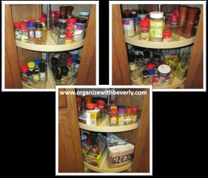 Organized Lazy Susan Cabinets